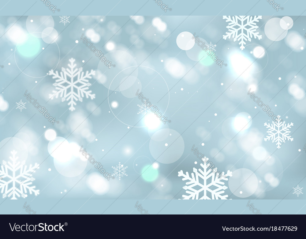 abstract-winter-wallpaper-with-snowflakes-vector-PIC-MCH038797 Wallpaper Snowflakes 41+