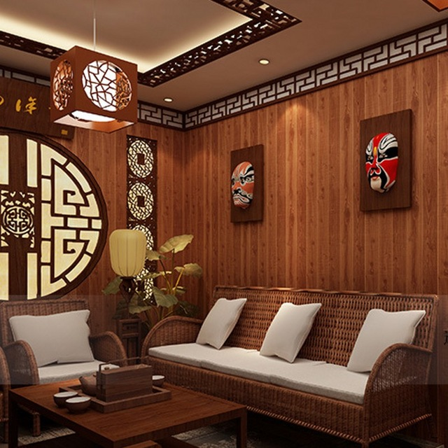 beibehang-Restaurant-Chinese-wood-plank-flooring-imitation-wood-ceiling-wallpaper-bedroom-living-ro-PIC-MCH045476 Wood Wallpaper Bedroom 23+