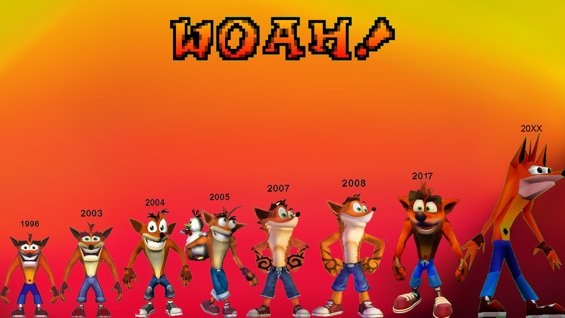 Crash Bandicoot Wallpaper Iphone 20 Dzbcorg