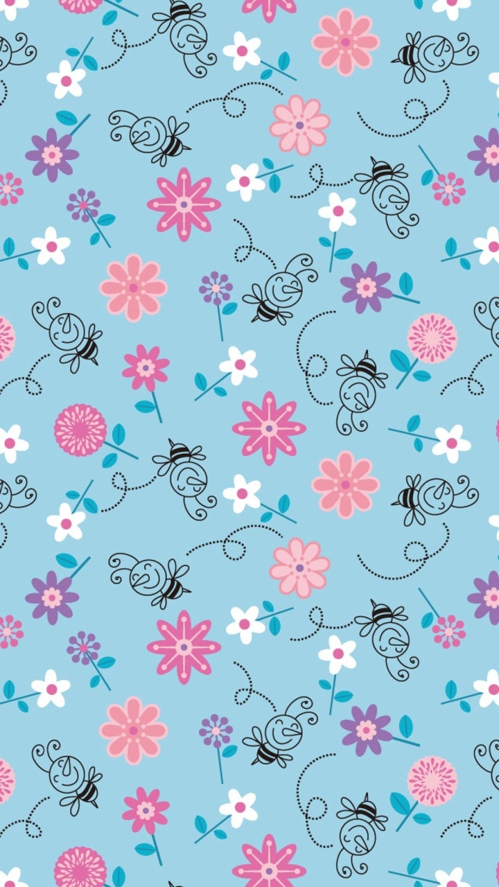 Flowers Blue And Wallpaper Image Galaxy Clipart Background Tumblr PIC MCH067351