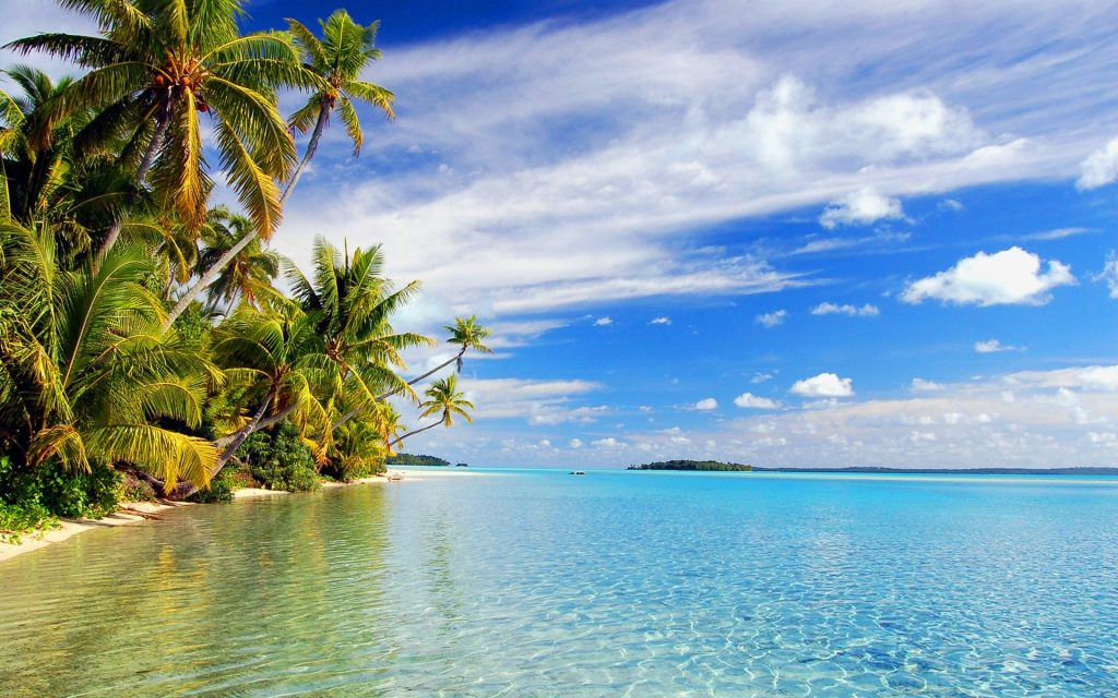 hd-tropical-island-reflections-beach-wallpaper-x-PIC-MCH072317-1024x640 Tropical Paradise Wallpapers 28+