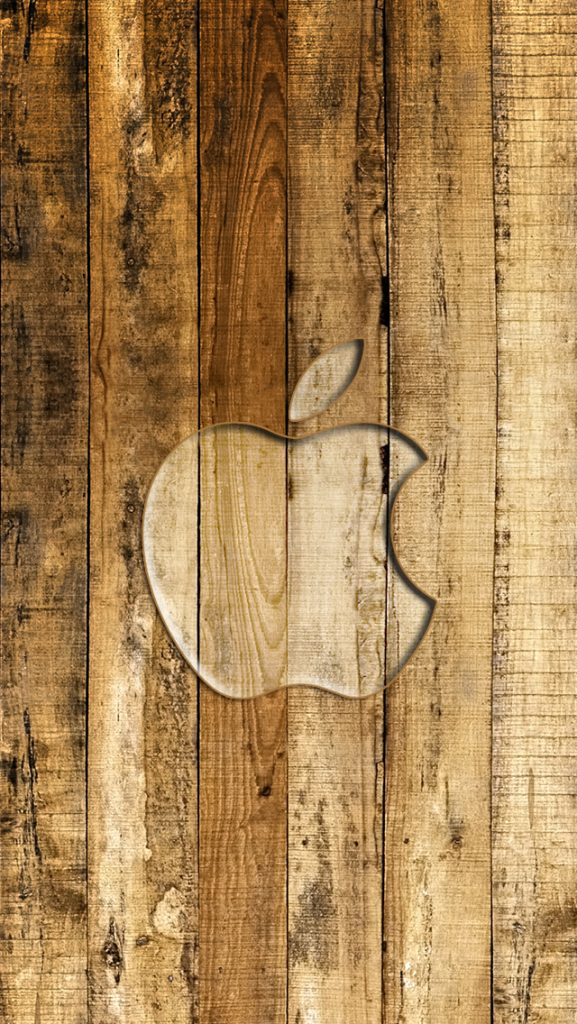 iPhone-Wallpaper-Apple-brown-wood-PIC-MCH01085-577x1024 Wood Wallpaper For Iphone 46+