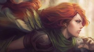Dota 2 Windrunner Wallpaper 1920×1080 30+