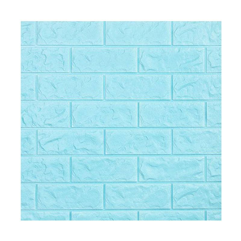 luxurious-luxurious-d-foam-brick-wallpaper-wallpaper-dekorasi-dinding-soft-light-baby-blue-x-PIC-MCH083851 Wallpaper Baby Blue 34+