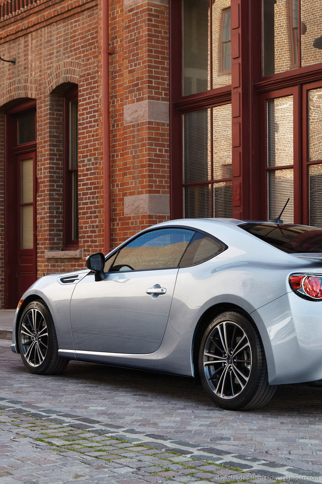 silver-subaru-brz-parked-back-PIC-MCH0101658 Brz Iphone Wallpaper 41+