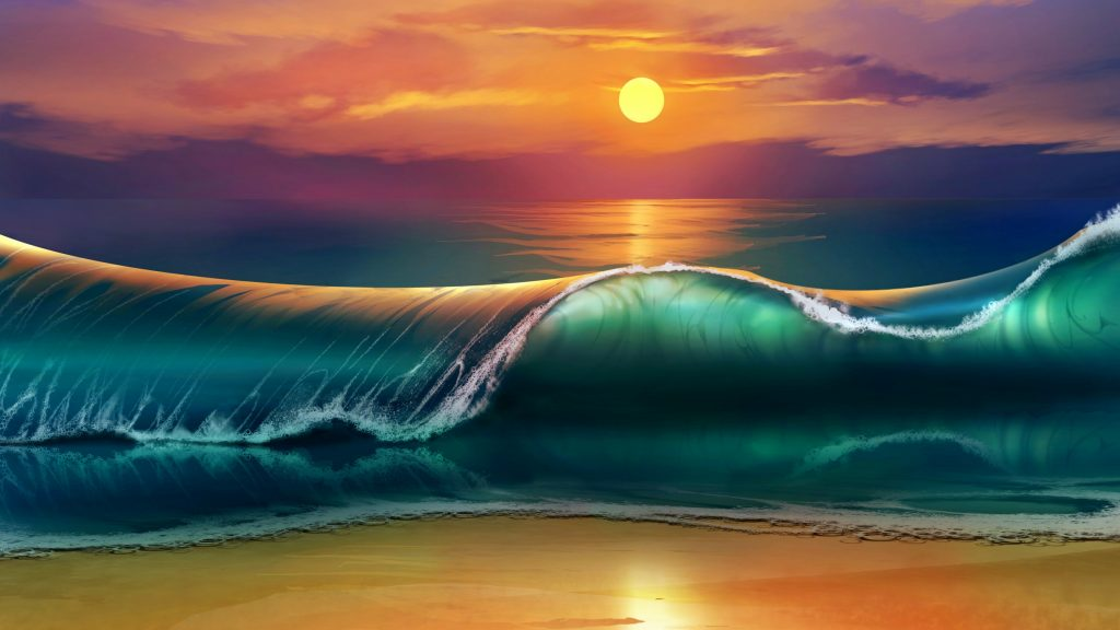 the-sunset-art-PIC-MCH0106939-1024x576 Sea Wallpaper 4k 36+