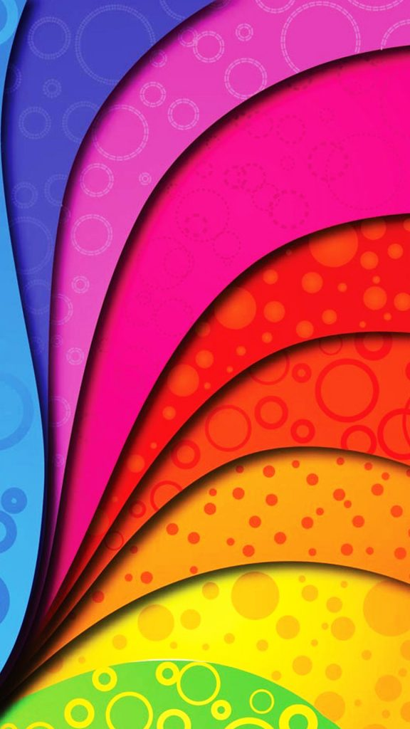 Colorful-Swirl-Rainbow-Dots-Android-Wallpaper-PIC-MCH053495-576x1024 Rainbow Wallpapers For Android 39+