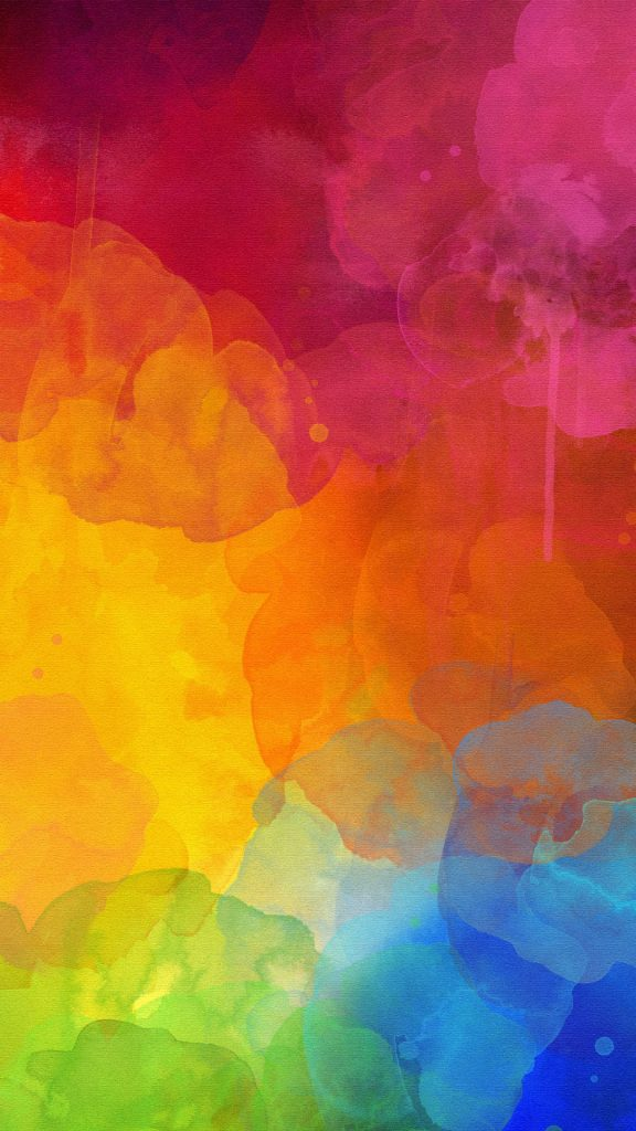 Colourful-Watercolour-Mark-Color-of-rainbow-in-abstract-wallpaper-wp-PIC-MCH053613-576x1024 Rainbow Wallpapers For Android 39+
