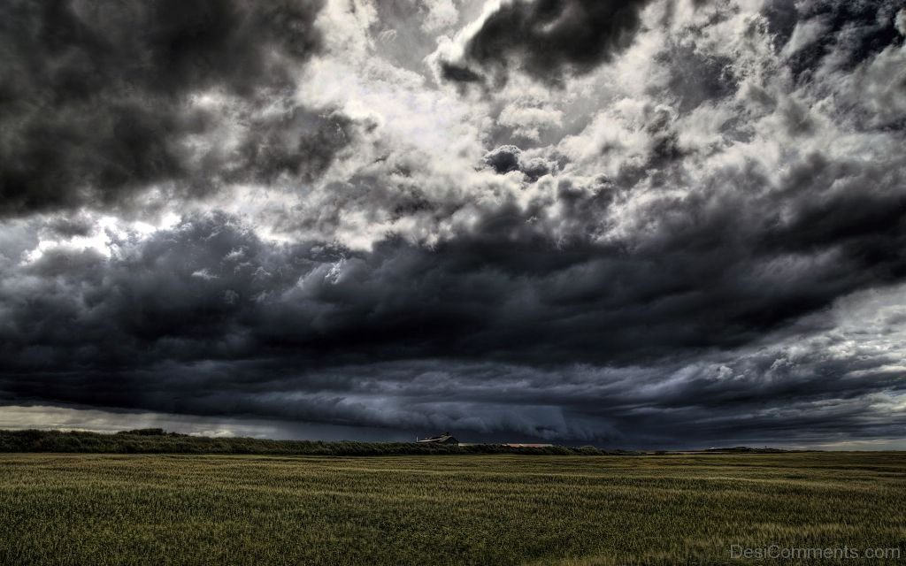 Dark-Black-Clouds-And-Filed-PIC-MCH056362-1024x640 Black And White Cloud Wallpaper 38+