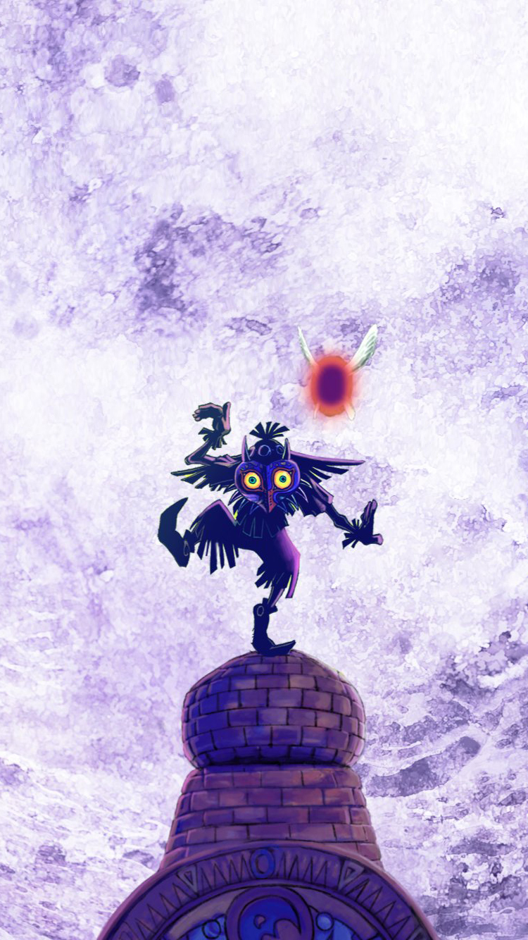 Majoras Mask D Wallpaper Skull Kid Mobile PIC MCH084361
