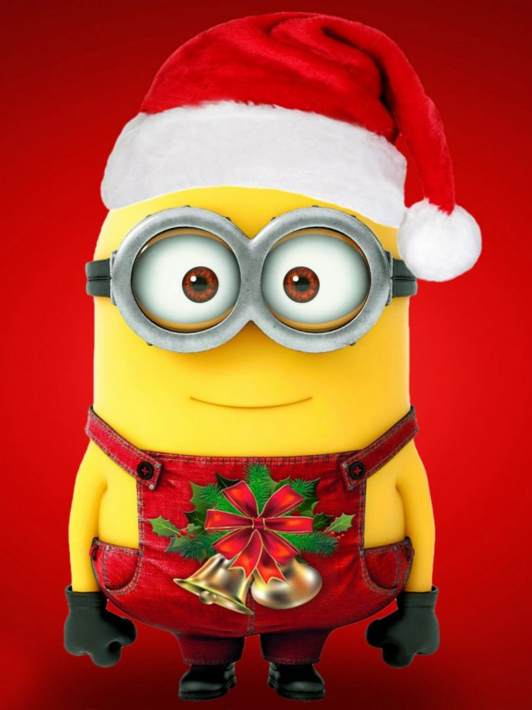 Merry-Christmas-Minions-l-PIC-MCH03956-768x1024 Super Hd Wallpapers For Mobile 22+