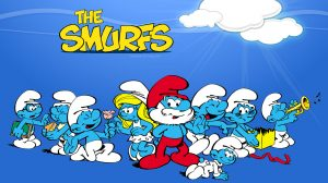 Wallpaper Smurf Cartoon 28+