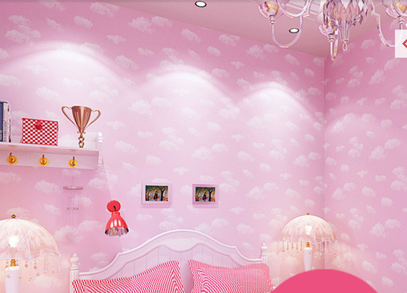 Pink-clouds-children-bedroom-wallpaper-boy-bedroom-cartoon-wallpaper-blue-sky-white-clouds-waterpro-PIC-MCH095149 Pink And White Cloud Wallpaper 12+