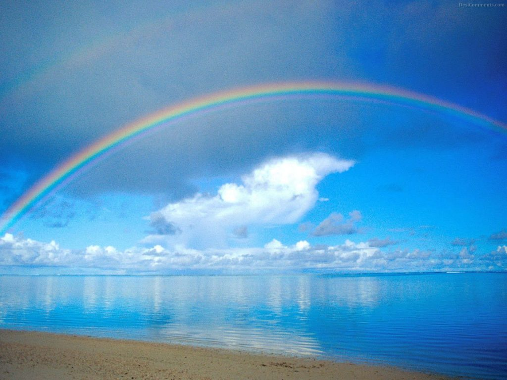 Rainbow-On-The-Beach-Wallpaper-Landscape-PIC-MCH097415-1024x768 Rainbow Wallpapers Free 45+