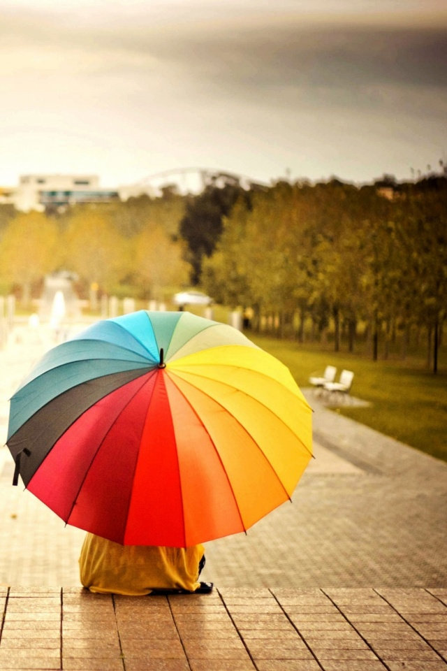 Rainbow-Umbrella-l-PIC-MCH029588 Rainbow Wallpapers For Android 39+