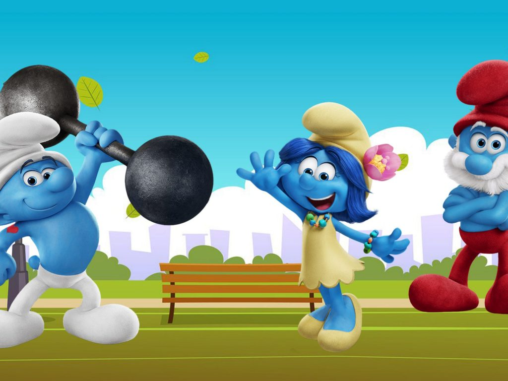 The-Smurfs-Hefty-Smurfs-Smurfette-and-Papa-Smurf-Wallpaper-HD-for-Desktop-x-x-PIC-MCH0106921-1024x768 Smurf Wallpaper For Bedrooms 28+