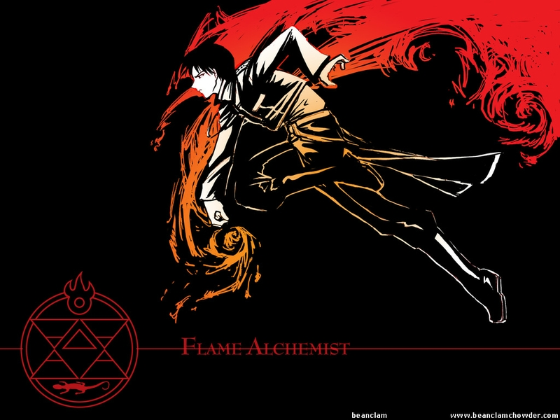 Fullmetal Alchemist Brotherhood Wallpaper Mustang 33 Dzbc Org