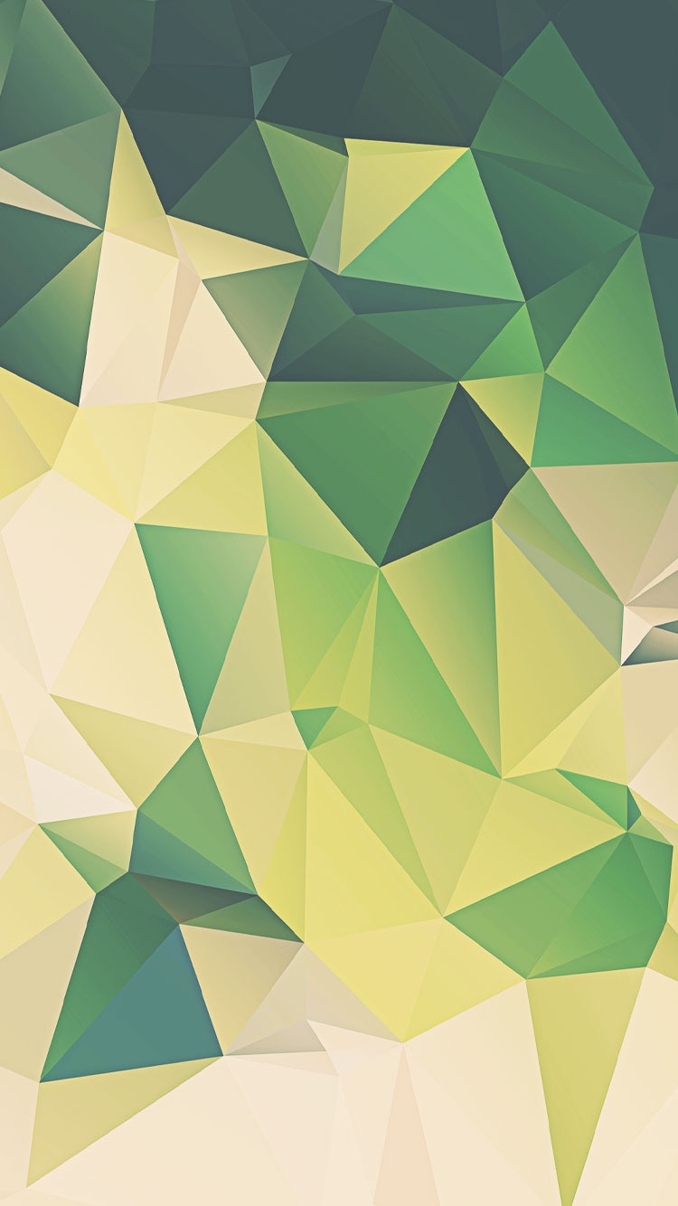 Green Polygon Iphone Background PIC MCH069951