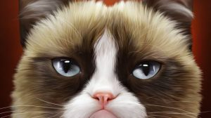 Grumpy Cat Christmas Wallpapers 21+