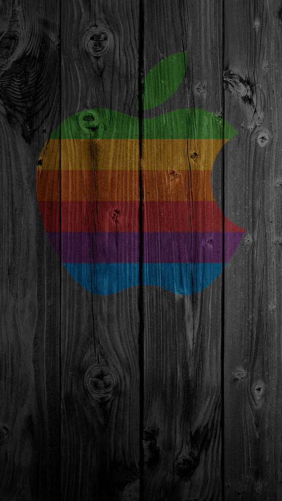 iPhone-Wallpaper-Apple-rainbow-colors-PIC-MCH01094-577x1024 Rainbow Wallpapers For Iphone 34+