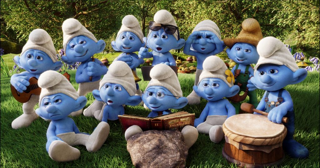 large-the-smurfs-wallpaper-x-PIC-MCH037498-1024x540 Smurf Wallpaper For Bedrooms 28+