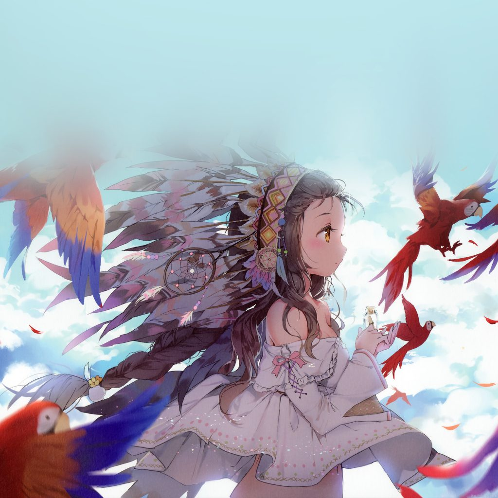 papers.co-ag-indian-girl-anime-birds-illust-art-wallpaper-PIC-MCH093172-1024x1024 Ipad Air Anime Wallpapers 26+