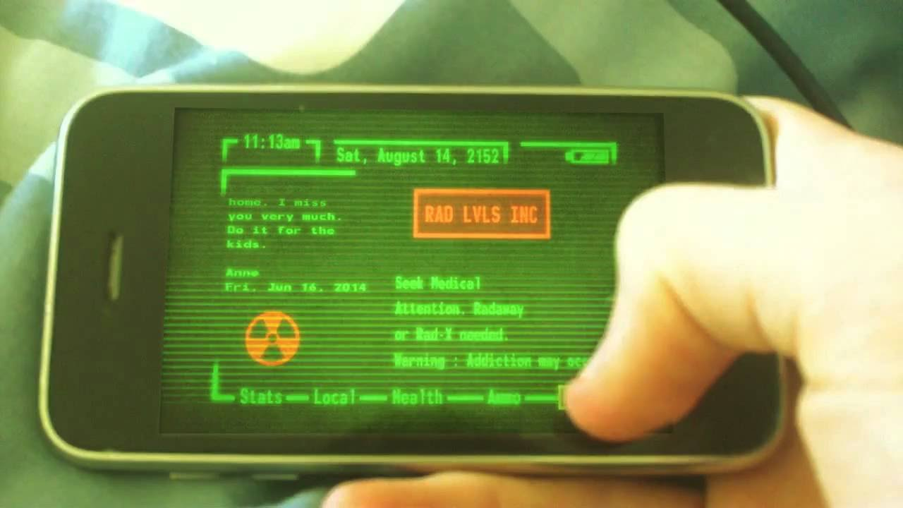 iphone pip boy fallout pipboy iphone wallpaper 23 dzbc org 12136