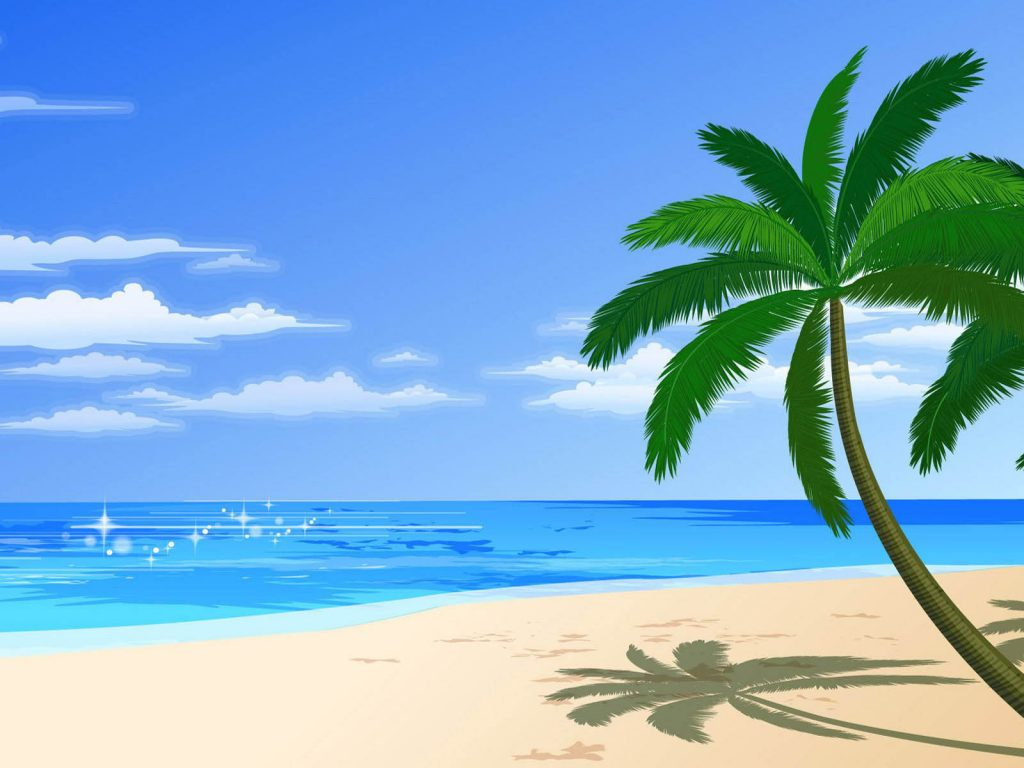 sandy-beach-clipart-pantai-PIC-MCH0100354-1024x768 Hawaii Beach Wallpapers 52+