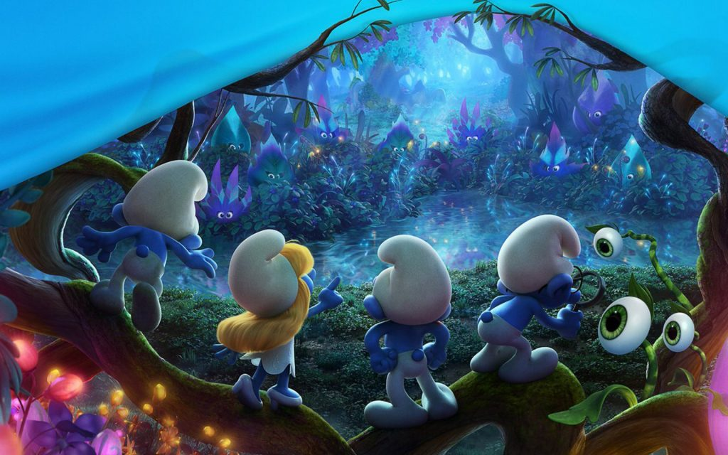 smurfs-the-lost-village-x-movies-animation-smurfs-hd-PIC-MCH0102536-1024x640 Smurf Wallpaper For Bedrooms 28+