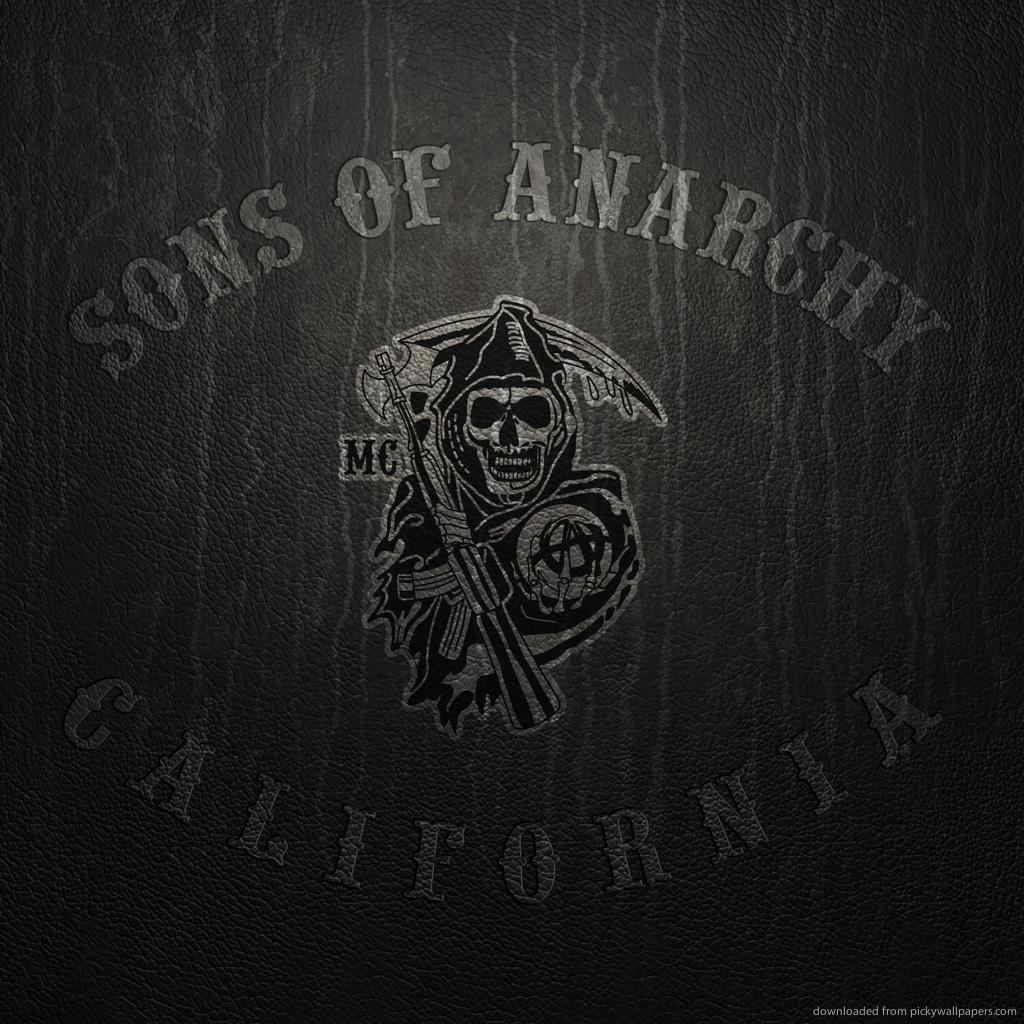 sons-of-anarchy-logo-on-leather-PIC-MCH0102922 Sons Of Anarchy Wallpapers For Ipad 27+
