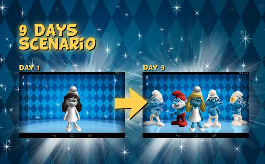 the-smurfs-d-live-wallpaper-screenshot-PIC-MCH0106909 Smurf Wallpaper For Android 20+