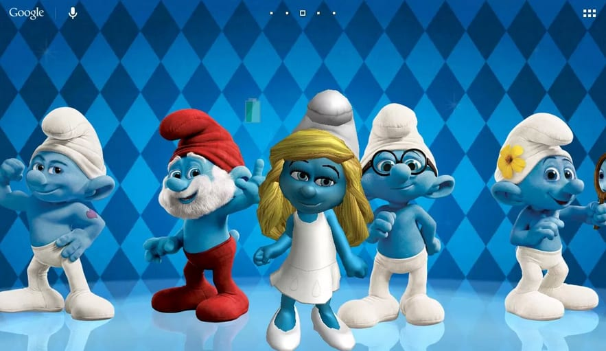 the-smurfs-d-live-wallpaper-screenshot-PIC-MCH0106911 Smurf Wallpaper For Android 20+