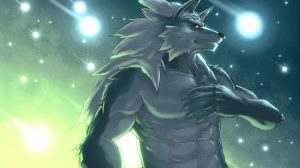 Anthro Wolf Wallpaper 18+
