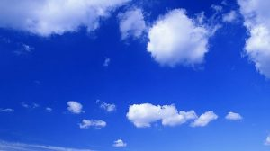 Blue Sky White Cloud Wallpaper 39+