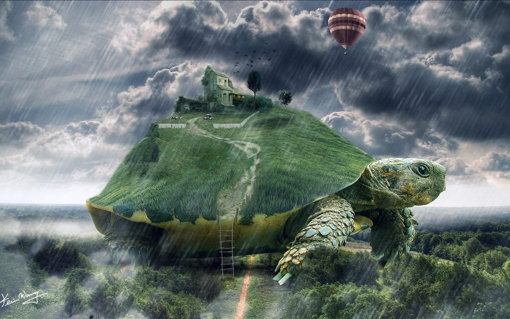 wallpaper-world-on-turtle-PIC-MCH0112667-1024x640 Awesome Turtle Wallpapers 32+