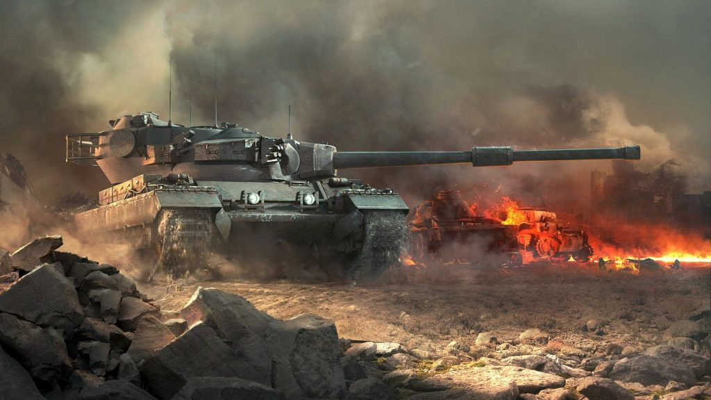 world-of-tanks-wallpapers-wide-On-wallpaper-hd-PIC-MCH0117429-1024x576 Tiger Tank Wallpaper 1080p 35+