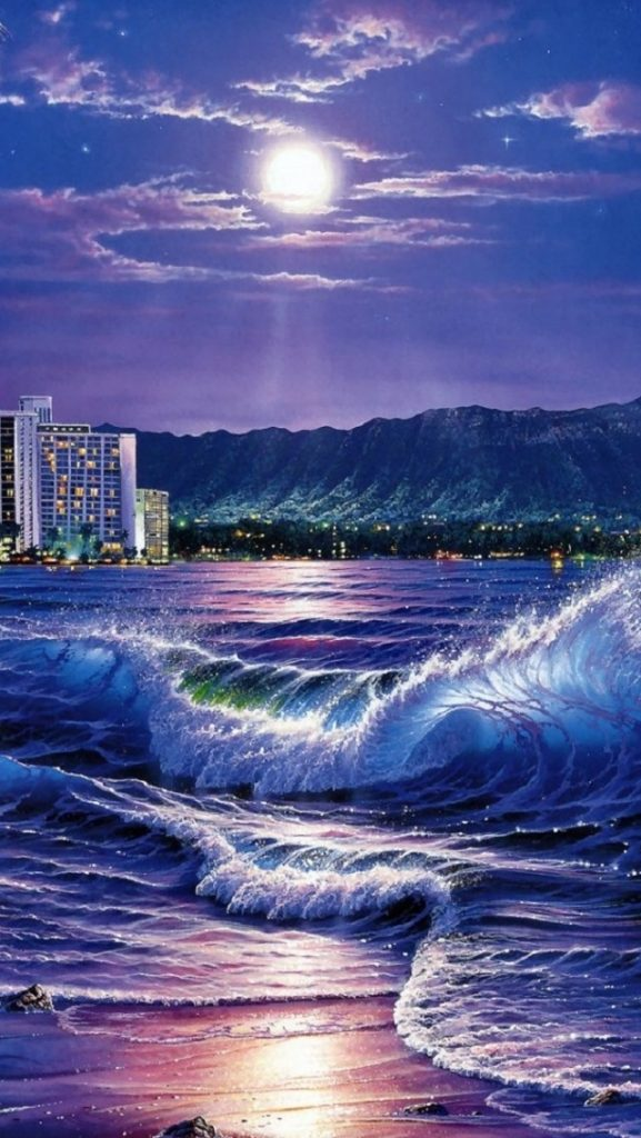 ws-Ocean-City-Moon-Night-Hawaii-x-PIC-MCH0119392-577x1024 Hawaii Iphone Wallpapers 20+
