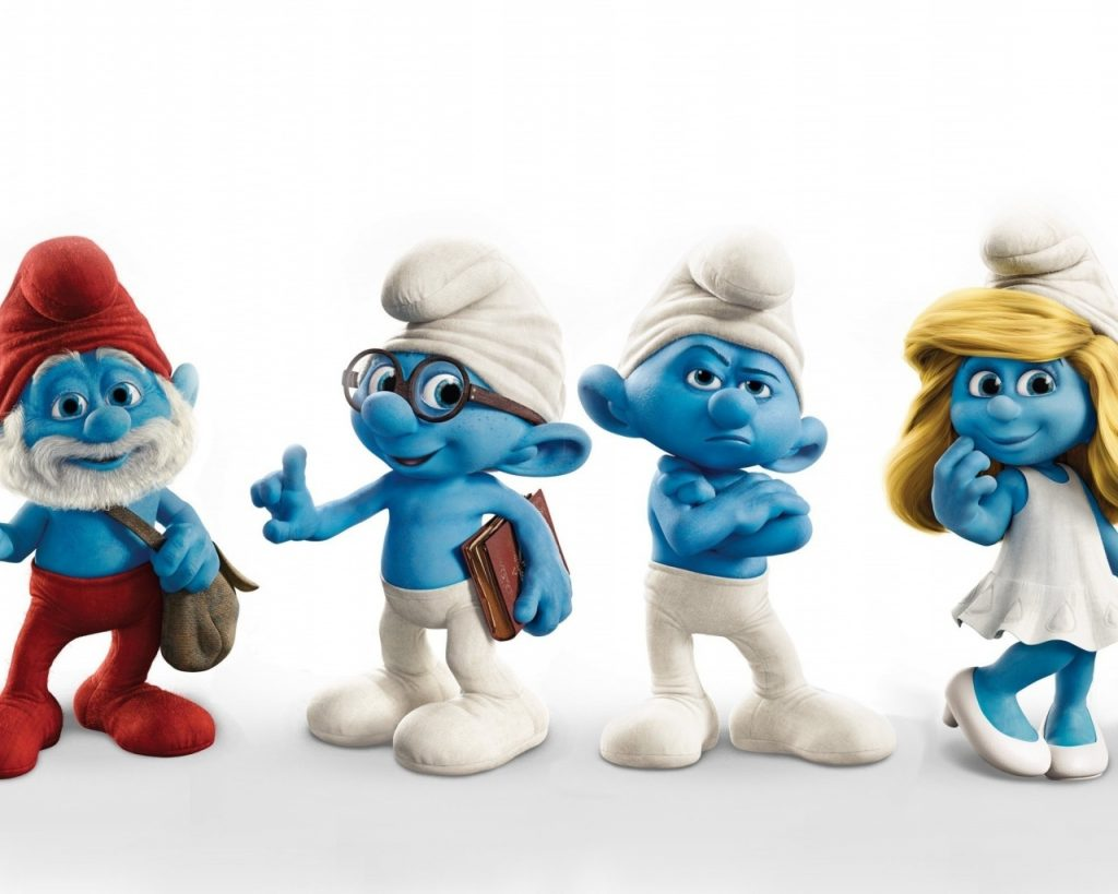 ws-The-Smurfs-x-PIC-MCH0119627-1024x819 Smurf Wallpaper Desktop 29+