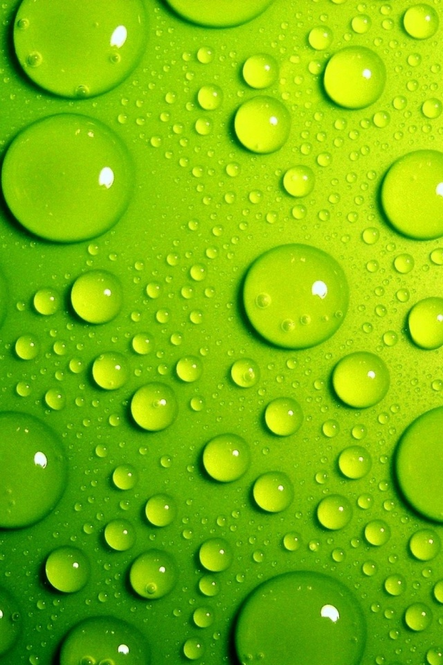 Green-Bubbles-l-PIC-MCH029525 Bubble Wallpapers For Mobile Phones 27+