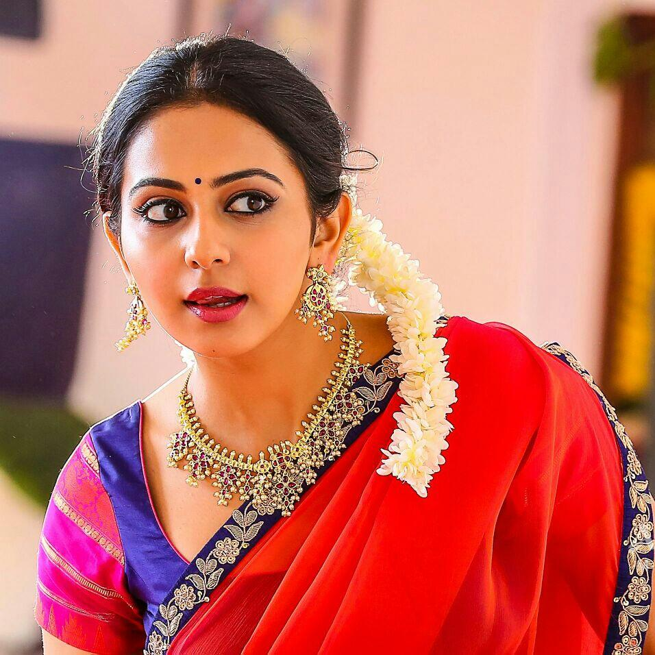 Rakul Preet Hd Wallpapers In Saree 31 Page 3 Of 3 Dzbcorg