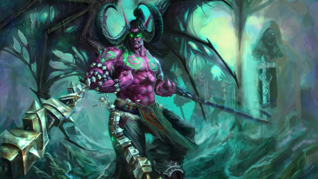 WOW-Illidan-Stormrage-PIC-MCH09072-1024x576 Malfurion Stormrage Wallpaper Hd 41+