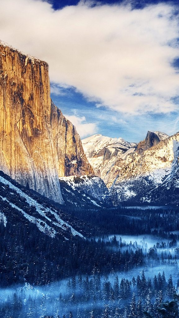 Yosemite-National-Park-Winter-Landscape-Android-Wallpaper-PIC-MCH0120848-576x1024 Central Park Wallpaper Iphone 6 Plus 20+
