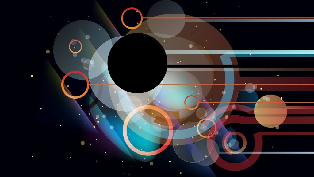 abstract-black-background-circles-graphics-multicolor-shapes-vector-art-PIC-MCH025385-1024x576 Wallpaper Hd Abstract Black 52+
