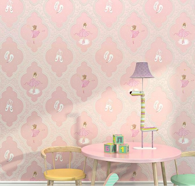 ballet-girl-Pink-wallpaper-d-for-bedroom-purple-wall-paper-roll-for-living-room-wall-paper.jpg-PIC-MCH043504 Lilac Wallpaper Living Room 16+