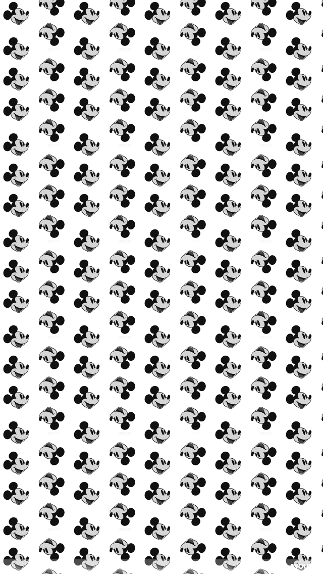Black And White Old Mickey Mouse PIC MCH047746