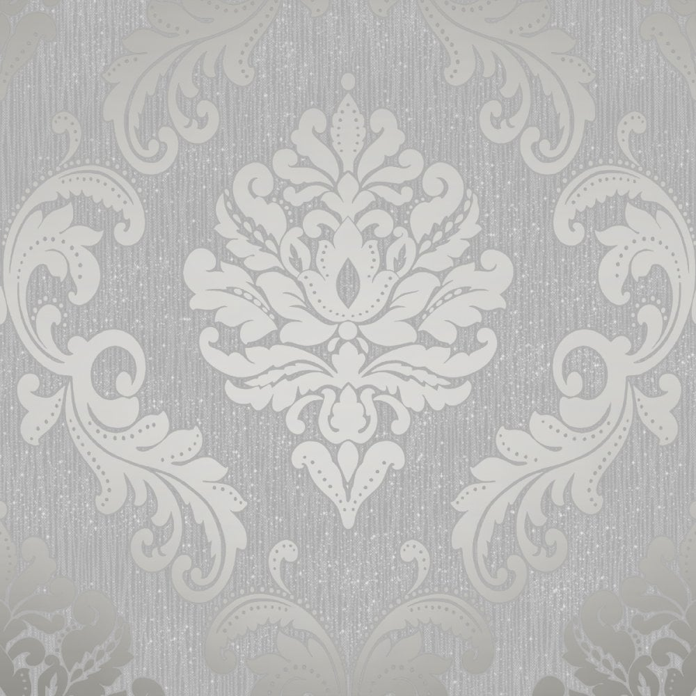 chelsea-glitter-damask-wallpaper-soft-grey-silver-h-p-image-PIC-MCH052031 Wallpaper Grey Silver 15+