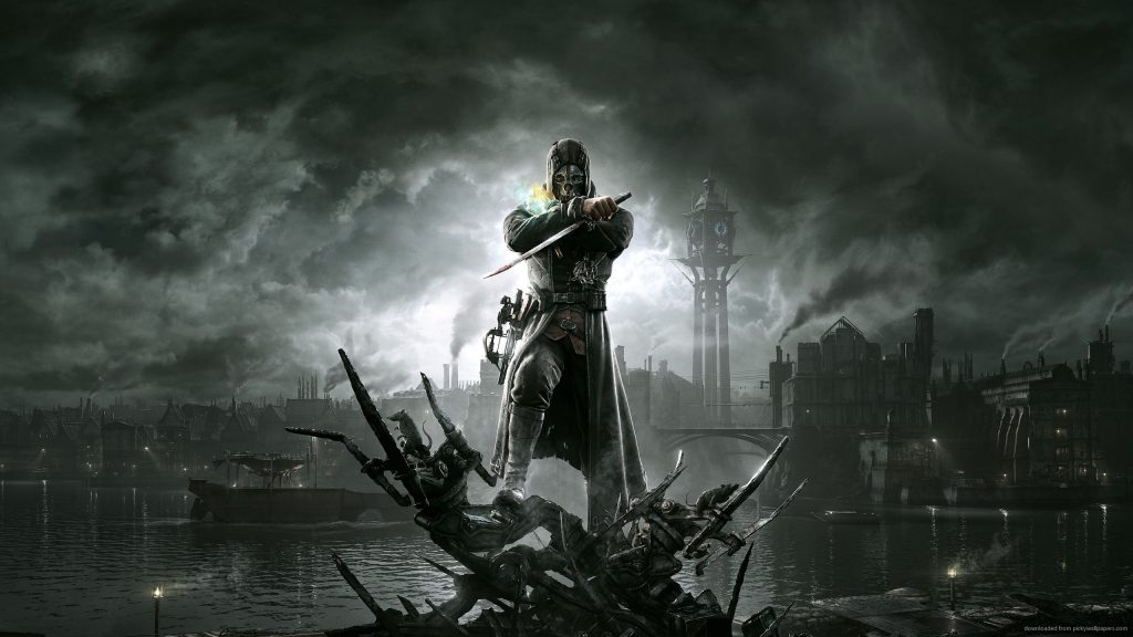 dishonored-video-game-wallpaper-PIC-MCH09630-1024x576 2560 X 1440 Wallpapers Gaming 41+