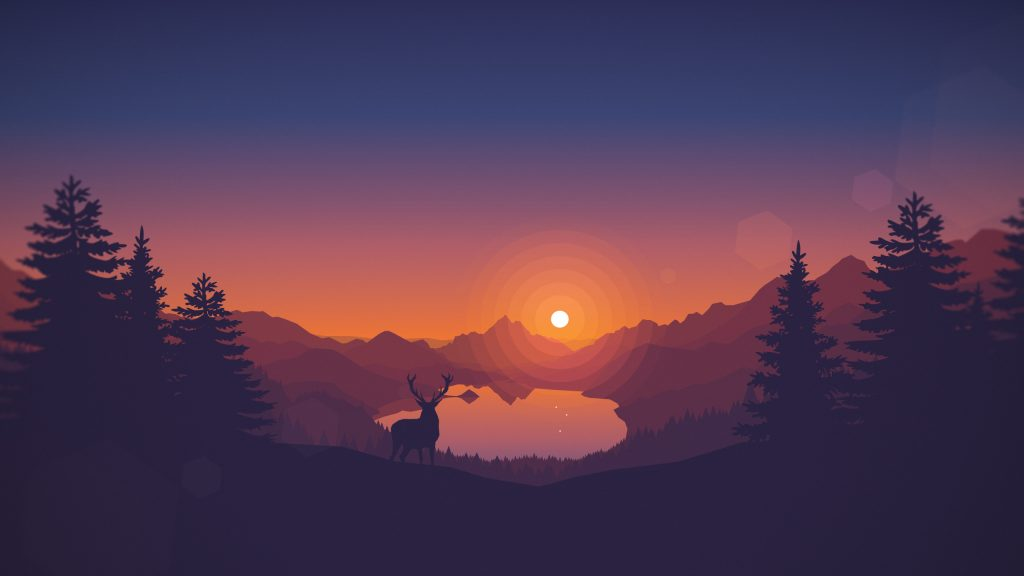 firewatch-wallpaper-PIC-MCH063982-1024x576 Deer Wallpaper Images 40+
