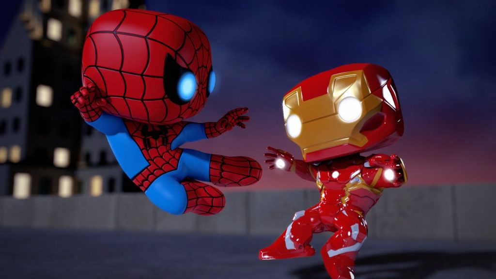 iron-man-vs-spiderman-spellbound-animated-movie-img-PIC-MCH077586-1024x576 Iron Man Wallpaper 4k For Android 32+