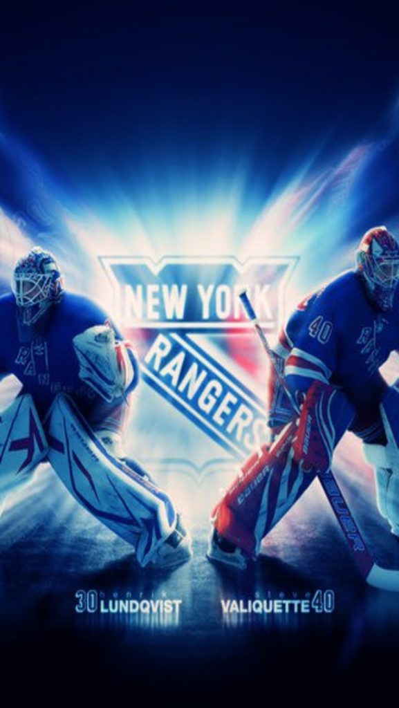 New York Rangers Goalies Iphone Wallpaper Download X